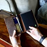 Durable Real Genuine Leather Rocketbook Cover for