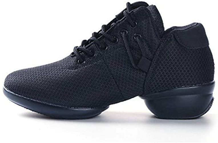 Female Dance Sneakers Soft Mesh Shoes Woman Jazz Ballroom Practicing Shoes