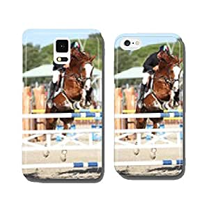 Horse jumping tournament cell phone cover case iPhone6 Plus