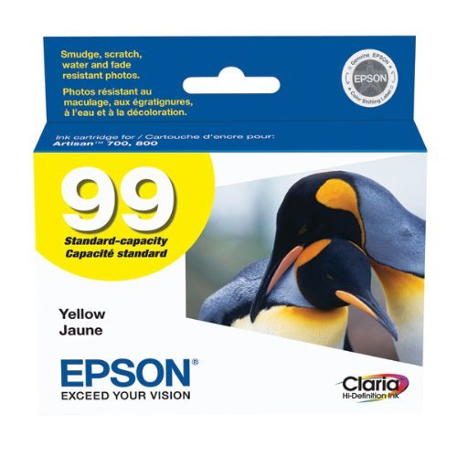 Epson OEM Ink T099420 (YELLOW) (1 Cartridge) (T099420) - (Ink Yellow T099420)