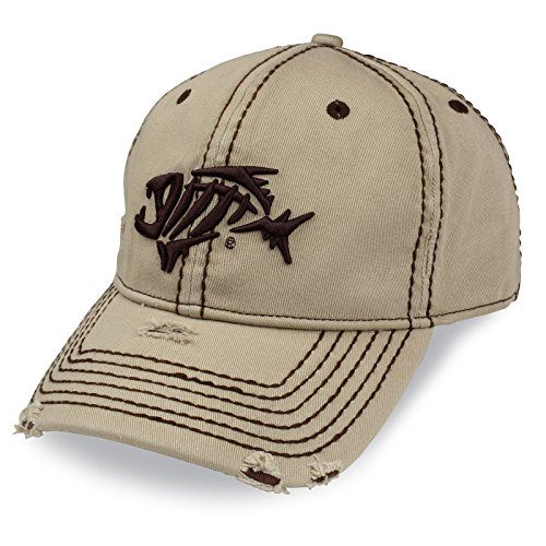 G. Loomis A-Flex Distressed Hat - Khaki - M/L
