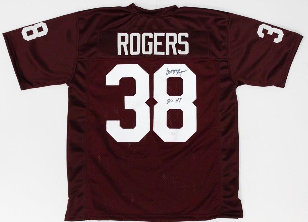 sale retailer ea6ad a030c George Rogers Autographed Signed South Carolina Gamecocks ...
