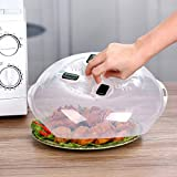 Microwave Plate Cover - Magnetic Hover Function | Microwave Lid Food Cover |