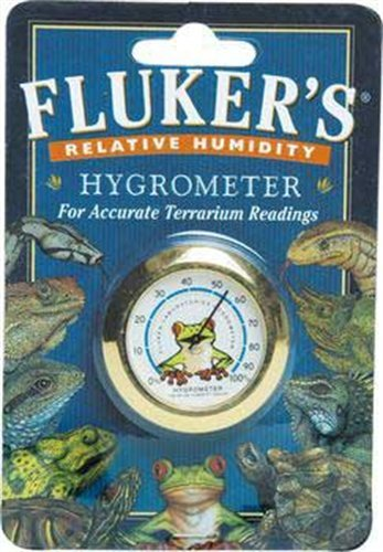 Fluker's Hygrometer for Reptiles from Fluker