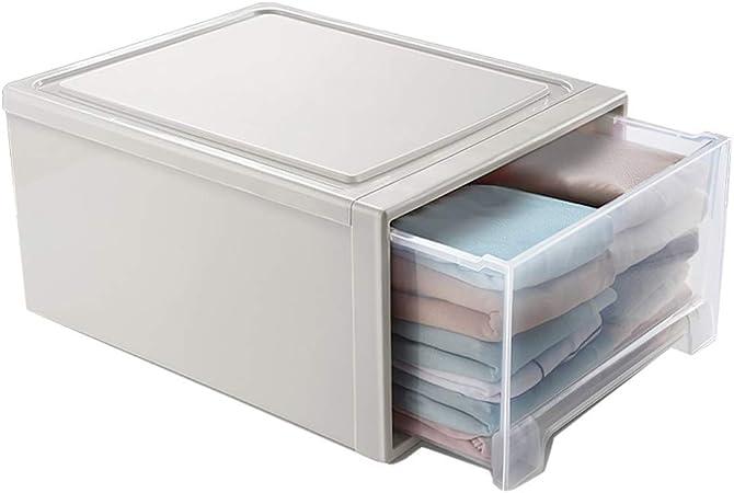 YULAN Caja de Almacenamiento Cajón Caja de Almacenamiento Armario Caja de Almacenamiento Ropa de plástico Gabinete Ropa Gabinete de múltiples Capas (Size : 24L): Amazon.es: Hogar