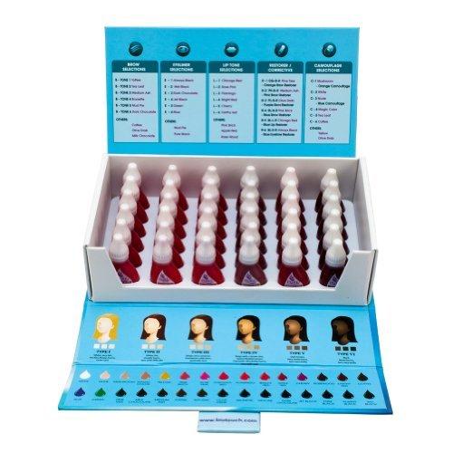 36 Bottle Set BIO TOUCH PURE Permanent Makeup Pigment Lip Tone Tattoo Ink Color