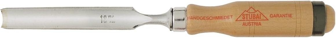 Stubai 360001 Scalpello//sgorbia per carpenteria 6 mm