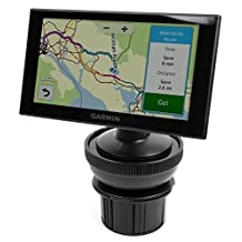 DURAGADGET Shock-Absorbing, Anti-Vibration, Adjustable In-Car Cup Holder Satnav GPS Mount for NEW Garmin Nuvi 2659LM