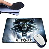 The Witcher Rise Of The White Wolf Logo Custom Design Mousepad Computer Mouse Mat Size 180mm*220mm*2mm