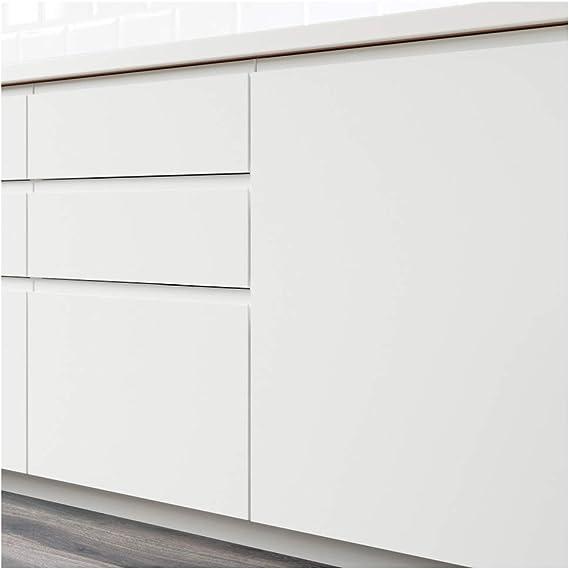 VOXTORP - Juego de armarios de esquina para puerta (2 piezas), color blanco: Amazon.es: Bricolaje y herramientas