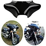 TCT-MT Front Outer Batwing Fairing Fit For Harley Touring Softail Dyna Road King 1994-2016 Fat Boy Yamaha V Star 650 1100 cla