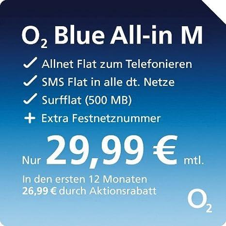 O2 De Willkommen Sim Karte Aktivieren.O2 Blue All In M Sim Und Micro Sim Allnet Flat Zum Telefonieren Und Smsen 500 Mb Lte Daten Flat 29 99 Euro Monat Bei 24 Monaten