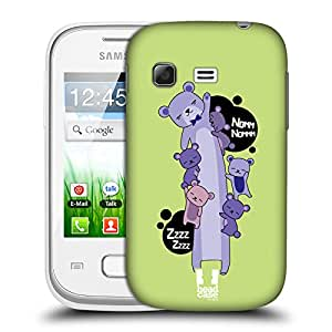 Head Case Designs Bear Long Animals Protective Snap-on Hard Back Case Cover for Samsung Galaxy Pocket S5300