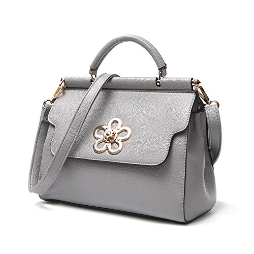 GWQGZ Nuevo Señoras Bolso Bolso De Moda Bolso Pequeño Paquete Pequeño Fresco Gules Gray