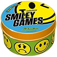 CreativaMente 501 - Gioco in Scatola, Smiley Games - 5 Fun Games To Play 4Ever, 5 Divertentissimi Giochi