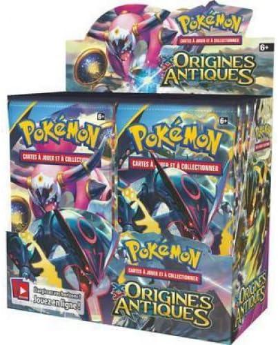 Pokemon - juego de cartas - sobres en francés - caja de 36 sobres Xy - Origines Antiques: Amazon.es: Juguetes y juegos