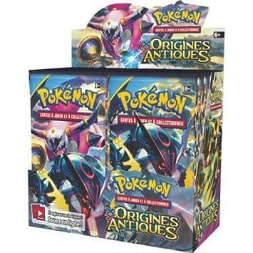 Pokemon - juego de cartas - sobres en francés - caja de 36 ...