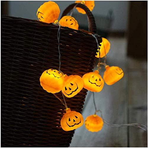 mrGood Halloween Lights | 3M Battery Operated Halloween Pumpkin led String Lights Halloween Holiday Christmas Party Garden Decoration Lanterns Light