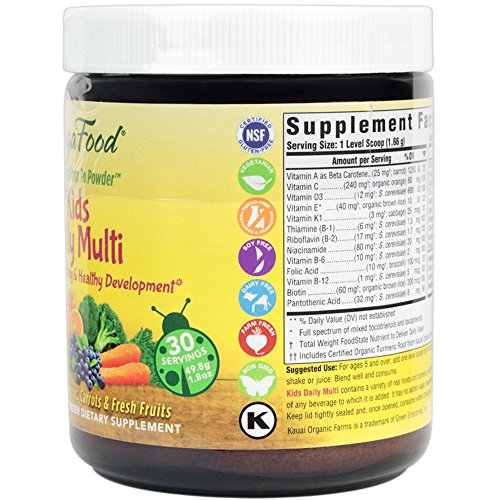 MegaFood - Kids Daily Multi Booster, 30 Servings (1.8 oz)