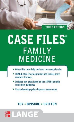 Case Files Family Medicine, Third Edition (LANGE Case Files) Pdf