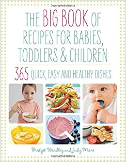 Big book of recipes for babies toddlers children 365 quick easy big book of recipes for babies toddlers children 365 quick easy and healthy dishes from first foods to starting school the big book series forumfinder Gallery