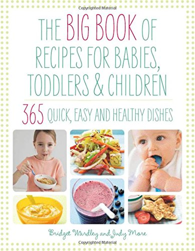 The Big Book of Recipes for Babies, Toddlers & Children (The Big Book Series) ebook
