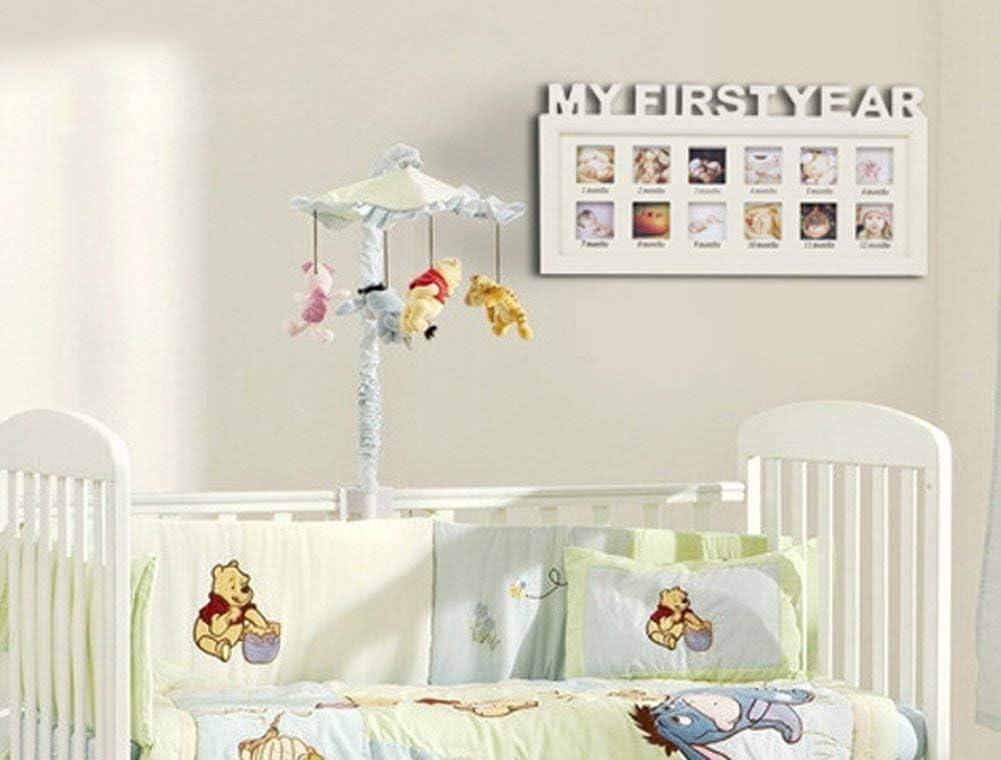 recuerdos de bautizo marco de ducha para cumplea/ños Marco de fotos /álbum de fotos para ni/ños reci/én nacidos regalo marco de fotos para el primer a/ño de beb/é con fotos m/últiples Navidad