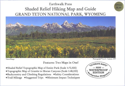 (Grand Teton National Park Hiking Map)