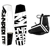 2018 Hyperlite Wakeboard Agent with Hyperlite Agent Bindings Fits Most Shoe Sizes
