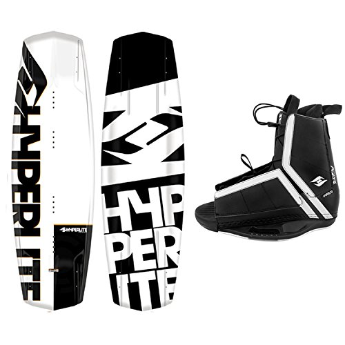 Hyperlite New 2019 Wakeboard Agent Agent Bindings Fits Most Shoe Sizes