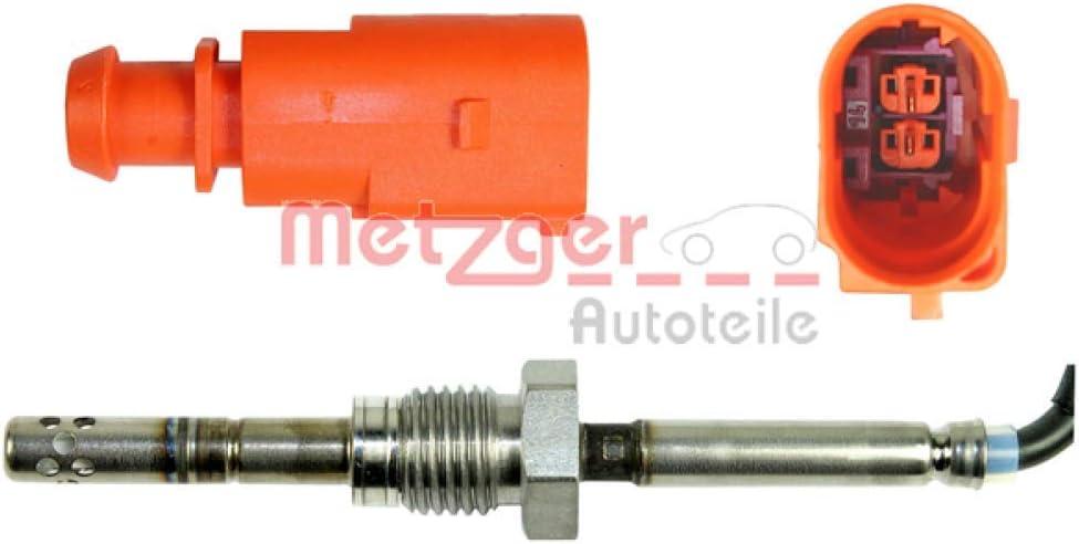 Sensor Abgastemperatur Abgastemperatursensor VAG  METZGER