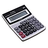 Office Calculator, Mini Size 5.5x4.3x1.2 Inch LCD Display 8-Digits Desktop Calculator For Financial, Study, Work, Powered By a Small Battery(Included)