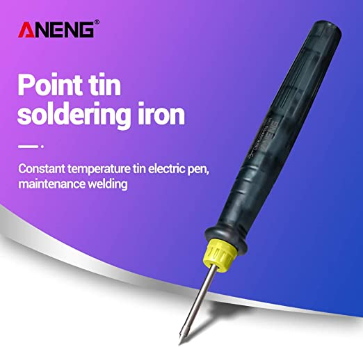 Electric USB Soldering Iron Pen 5V 8W Mini Tip Button Switch Soldering Welding