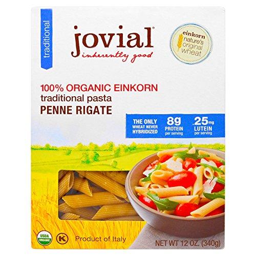 - Jovial 100% Organic Einkorn Penne Rigate (6 Pack)