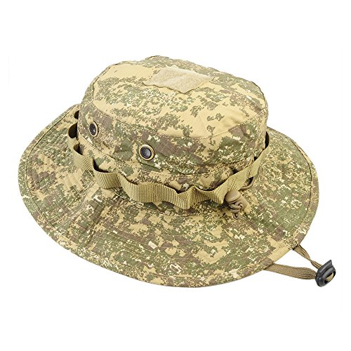 AIRSSON-Tactical-Boonie-Hat-Cap-Camo-Airsoft-Military-with-Neck-Flap-Unisex-Cotton-Adjustable-Outdoor-Fishing-Hunting