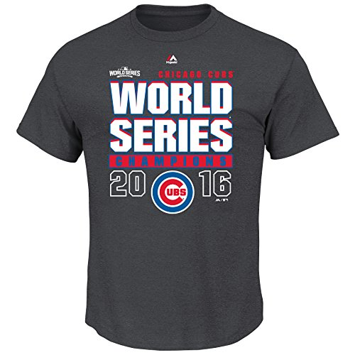 Chicago Cubs MLB Youth Roaring Glory 2016 World Series Champions T-Shirt (Youth (Youth World Series)