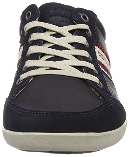 Bleu nbsp; Navy Hansen 597 Kordel Homme Basses Baskets Natura Helly Leather Sperrygu UTwfY