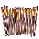 Makeup Brush Set,Han Shi 2017 Fashion 20 pcs 20pcs Make up Brushes Kits Toiletry Kit Clearance (M, Yellow)