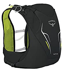 Osprey Packs Duro 6 Hydration Pack, Electric Black, M/l, Medium/Large