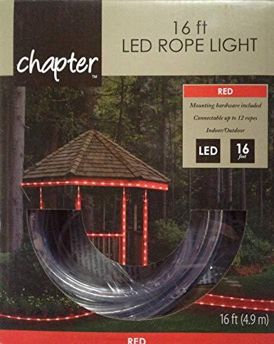 16 ft LED Rope Light (Red) ()