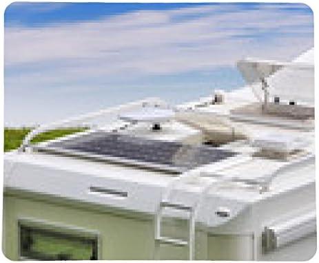 alfombrilla de ratón Camper, paneles solares, antena de TV y ...