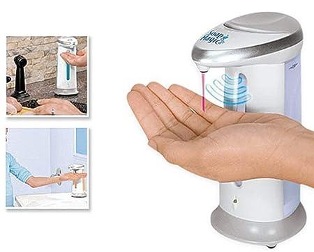 Dispensador automático de jabón con sensor de movimiento F-374: Amazon.es: Hogar