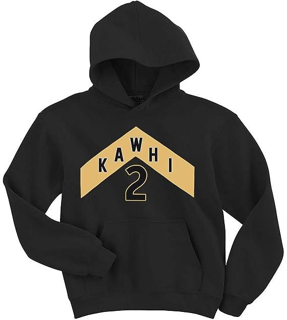 the best attitude 3fa20 82311 Amazon.com: Black Toronto Kawhi The North Jersey Logo Hooded ...