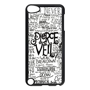 Ultra Slim Fit Hardshell Cover Case for iPod Touch 5, 5G (5th Generation) - Pierce The Veil