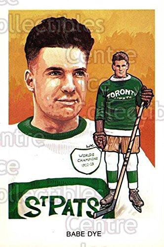 Babe Dye Hockey Card 1983 Hall of Fame Postcards #C04 Babe Dye