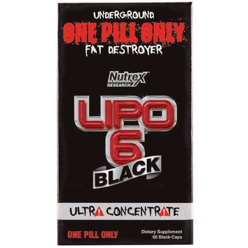 LIPO 6 BLACK NUTREX - 60 CAPS