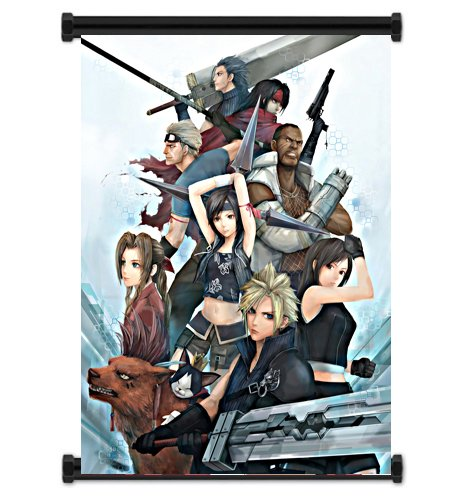 (Final Fantasy VII Advent Children Fabric Wall Scroll Poster (16