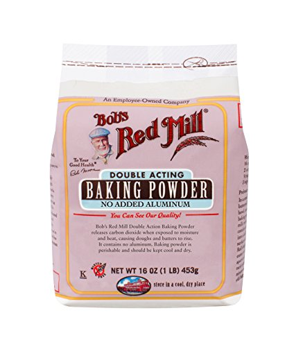 Baking Soda Free Gluten - Bob's Red Mill Baking Powder, 16 Ounce (Pack of 1)