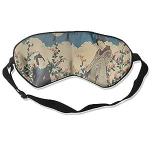 Japan Lover Sleep Eye Mask 100% Mulberry Silk Blindfold Travel Sleep Cover Eyewear