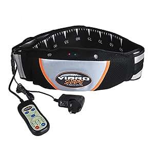 Vinteky Electric Exercise Slimming Massager Belt Vibration Massage Heat Loss Weight Fat Burner Waist Trimmer Belt